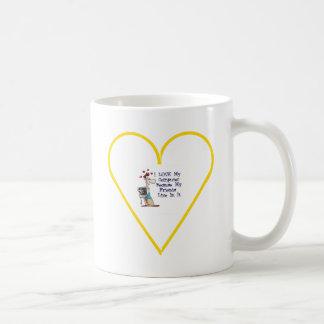 Best Buddies Basic White Mug