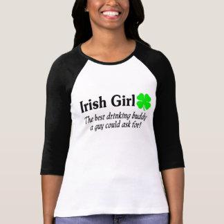 Best Buddy Irish Girl T-Shirt