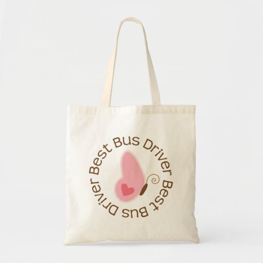 Best Bus Driver (Butterfly) Tote Bag