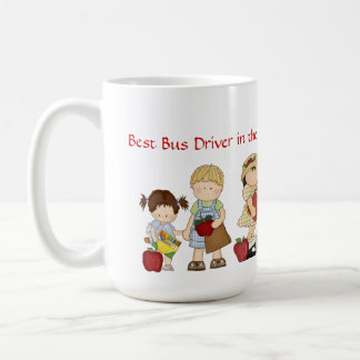 Best Bus Driver in the World (can be personalized) Coffee Mug