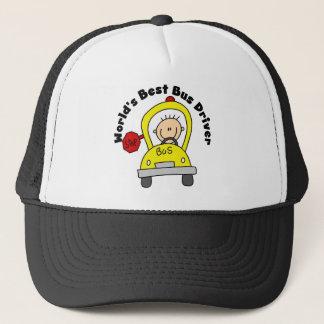 Best Bus Driver Trucker Hat