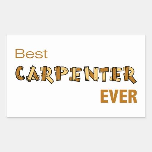 Best Carpenter Ever Stickers