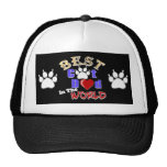 Best Cat Dad In The World for Father's Day Cap