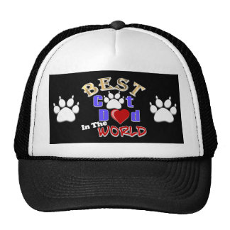 Best Cat Dad In The World for Father's Day Trucker Hat