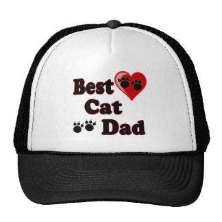 Best Cat Dad Merchandise for Father's Trucker Hats