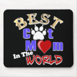 Best Cat Mum In The World Gifts for Mother's Day Mouse Mats