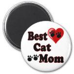 Best Cat Mum Merchandise for Mother's Refrigerator Magnet