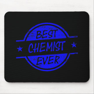 Best Chemist Ever Blue Mousepads