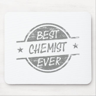 Best Chemist Ever Gray Mouse Pad