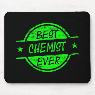 Best Chemist Ever Green Mouse Pad