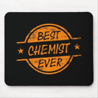 Best Chemist Ever Orange Mousepads