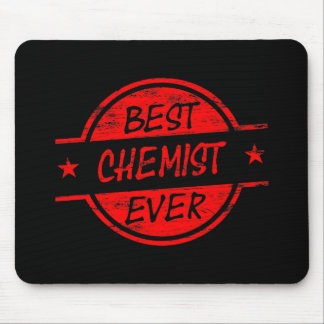 Best Chemist Ever Red Mousepads