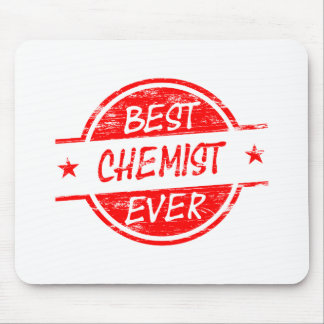 Best Chemist Ever Red Mousepad