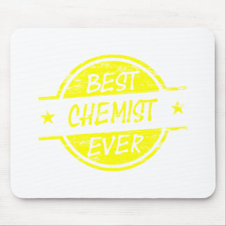 Best Chemist Ever Yellow Mouse Pad