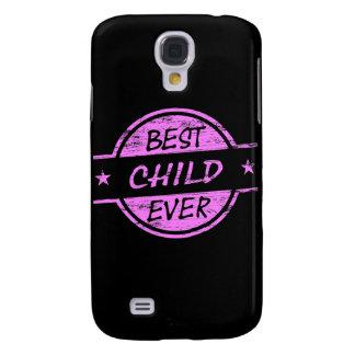 Best Child Ever Pink Galaxy S4 Case