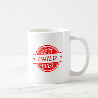 Best Child Ever Red Coffee Mugs