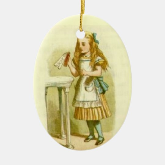 Best Christmas Tree Ornaments - Alice Wonderland