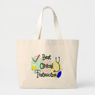Best Clinical Instructor Nursing Gifts Large Tote Bag