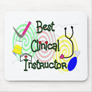 Best Clinical Instructor Nursing Gifts Mouse Pad