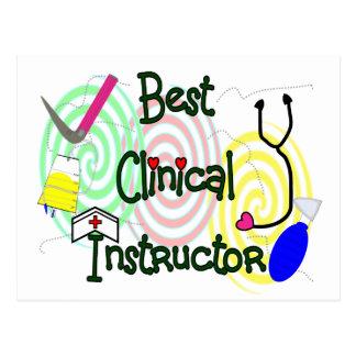 Best Clinical Instructor Nursing Gifts Postcard