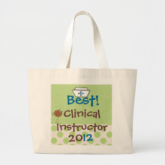 Best Clinical Instructor Tote Bag
