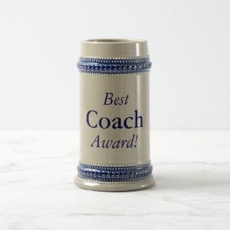 Best Coach Award! Stein