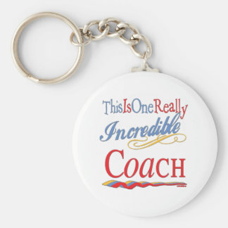 Best Coach Gifts Basic Round Button Key Ring