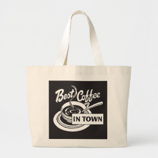 Best Coffee in Town Tote Bags