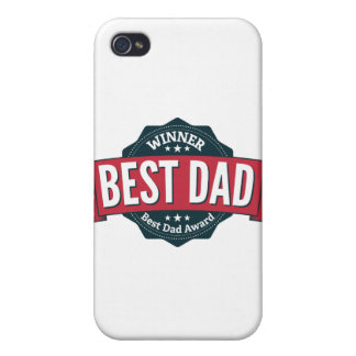 Best Dad Award Winner iPhone 4 Case