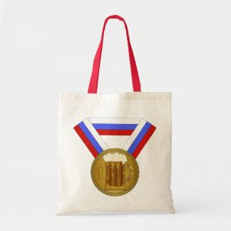 Best Dad Beer Mug Medal Canvas Bag