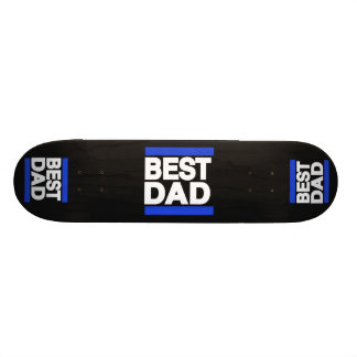 Best Dad Blue Skateboard Deck