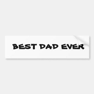 Best Dad Bumper Sticker