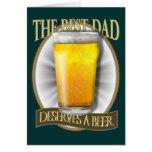 Best Dad Deserves A Beer