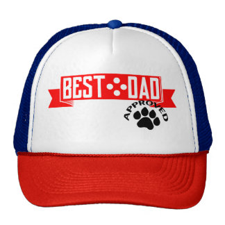 Best Dad Dog Approved Cap