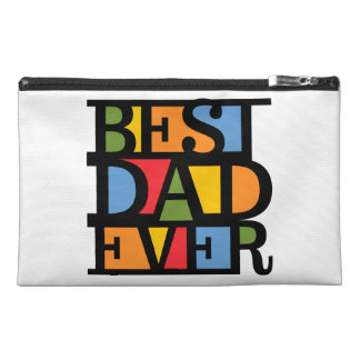 BEST DAD EVER accessory bags