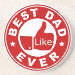 Best Dad Ever Beverage Coaster