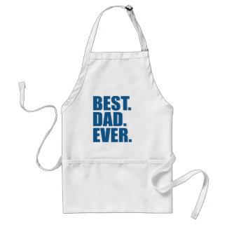 Best. Dad. Ever. (blue) Standard Apron