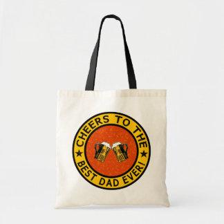 BEST DAD EVER custom bag – choose style, color