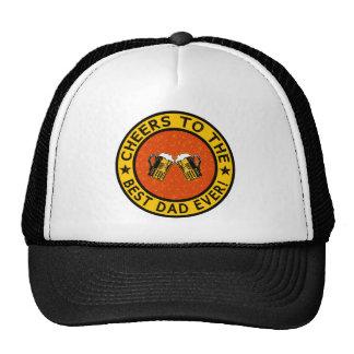 BEST DAD EVER custom hat - choose color
