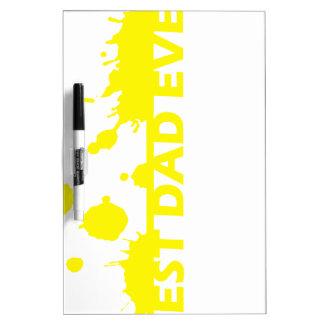 Best Dad Ever Dry Erase Board