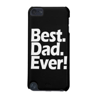 Best Dad Ever Exclamation Black/White Father's Day iPod Touch (5th Generation) Covers
