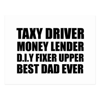 Best dad ever Father's day gift Postcard