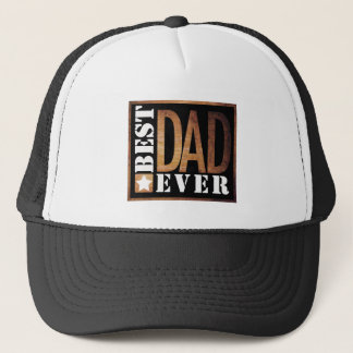 Best Dad Ever Grunge Series Trucker Hat