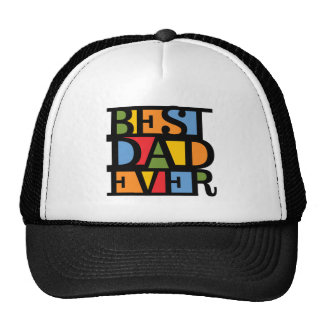 BEST DAD EVER hat - choose color