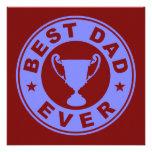 Best Dad Ever Invitation