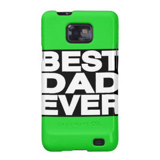 Best Dad Ever Lg Green Samsung Galaxy S2 Covers
