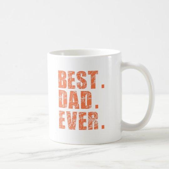 Best Dad Ever (Orange) Coffee Mug