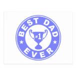 Best Dad Ever Postcard