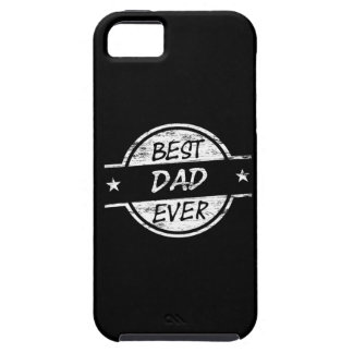 Best Dad Ever White iPhone 5 Cover