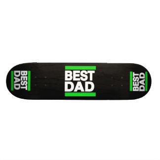 Best Dad Green Skateboard